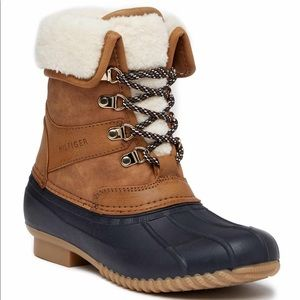 New Tommy Hilfiger Rusteen Faux Fur Lined Boots